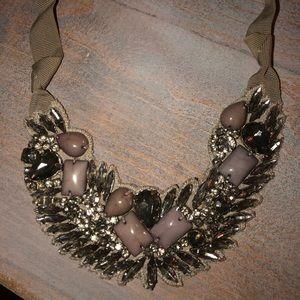 Loft silver/lavander necklace